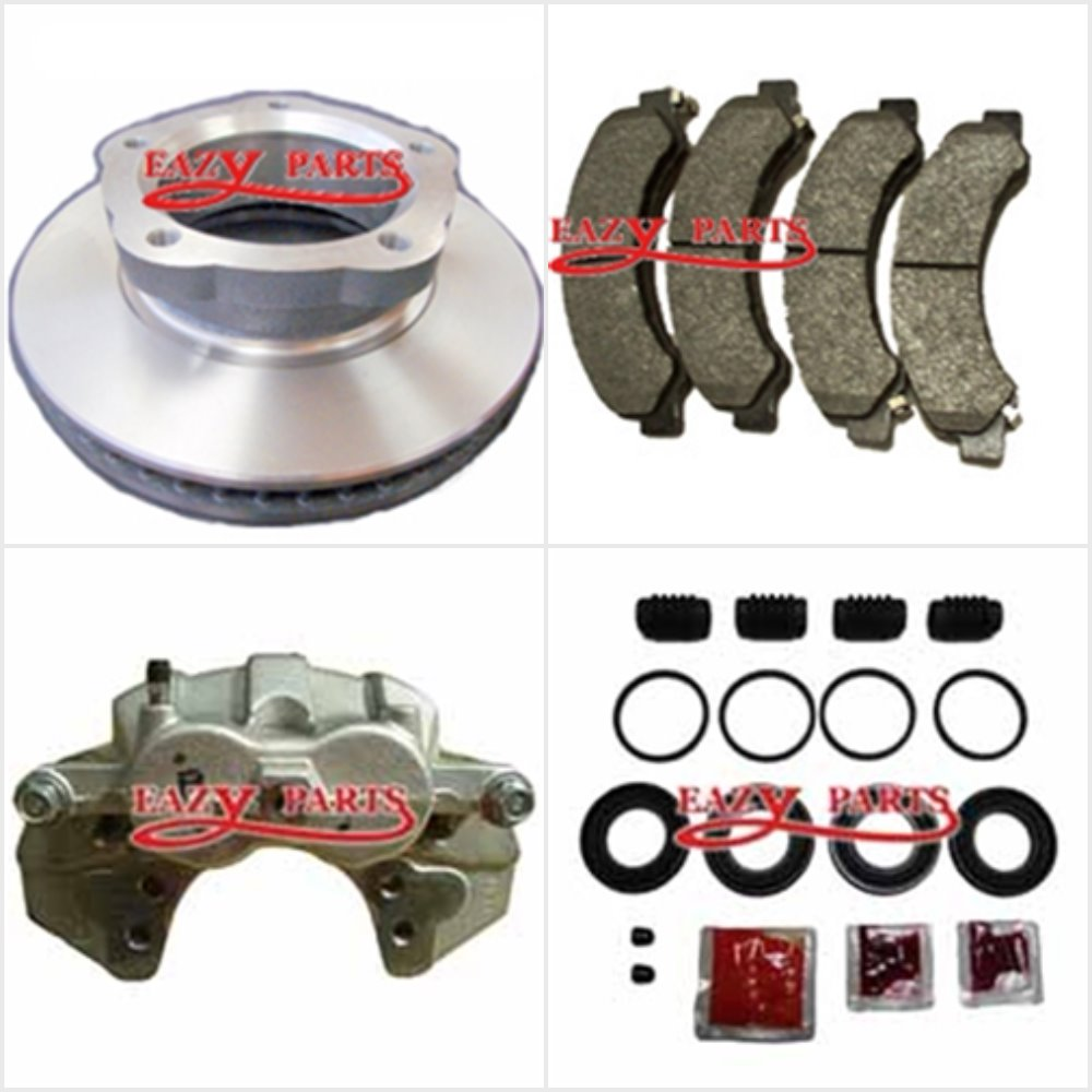 BRAKE DISC ROTOR PADS & CALLIPER